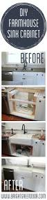 Installing Upper Kitchen Cabinets Home Decor How To Install Farmhouse Sink Bathroom Wall Storage