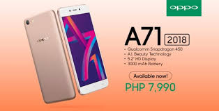 Oppo A71 Oppo A71 2018 Now Available In The Philippines Priced At Php7
