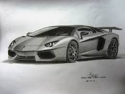 supercar drawing my lamborghini aventador graphite drawing