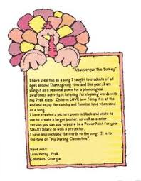 albuquerque turkey poem and quiz choice poem and students