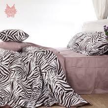 Zebra Print Single Duvet Set Compare Prices On Zebra Print Bedding Online Shopping Buy Low