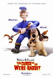 rabbit poster wallace gromit the curse of the were rabbit