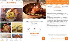 application recettes de cuisine les meilleures applications gratuites de cuisine pour android et