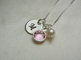 s day birthstone necklace strikingly beautiful personalized necklaces for mothers