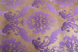 3d stereo luxury european style damascus gold embossed wallpaper
