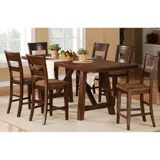 dining room sets dining table and chair set rc willey 5 piece dining set transitional veca burnished mango