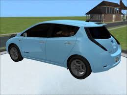 sims 2 car conversion by vovillia corp 2011 nissan leaf youtube