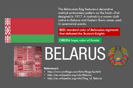 What Do The Flag Colors Mean Meaning Of The Flag Of Belarus Vexillology