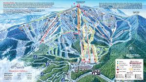 Spokane Washington Map 49 Degrees North Ski Trail Map Chewelah Washington U2022 Mappery