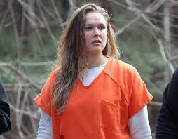 Prison Jumpsuit Ronda Rousey Spotted In Prison Jumpsuit For Tv Show Sport