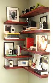 Corner Wall Bookcase Diy Corner Wall Shelves Corner Living Room Shelf Ideas