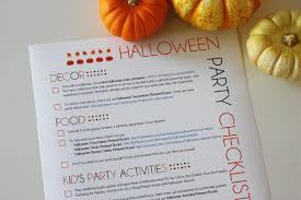 my printable halloween party planning guide catch my party
