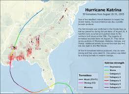 New Orleans Radar Map by Hurricane Katrina Also Caused A Tornado Outbreak U S Tornadoes