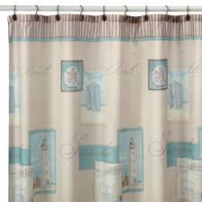 Coastal Shower Curtains Buy Coastal Shower Curtain From Bed Bath Beyond