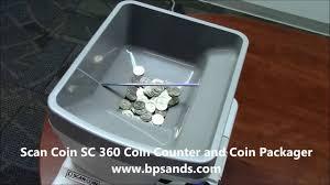 scan coin sc 360 coin counter youtube