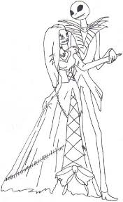 the nightmare before christmas sally coloring page holiday