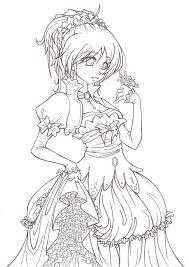 181 anime u0026 manga style coloring images