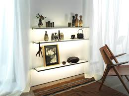 Glass Shelf Glass Shelf Gera Light System 4 Illuminated Shelving From Gera