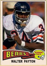 cards that never were 1975 topps walter payton