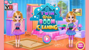 twin girls room cleaning game youtube