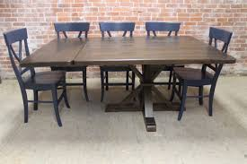 reclaimed wood square dining table square tables built from reclaimed wood ecustomfinishes