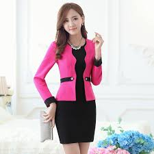 wholesale formal women business suits ol faux dress and blazer