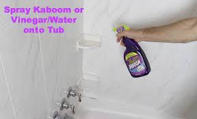 How To Clean Bathroom Floor by How To Clean A Bathtub Fast Home Repair Tutor