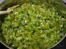 cuisiner tomates vertes katia au pays des merveilles salsa verde de tomates vertes