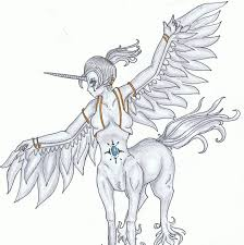 centaur pegasus unicorn x by remnika on deviantart