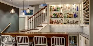 fresh cool basement bar home decor color trends interior amazing