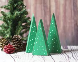 wooden trees rustic christmas tree christmas decorations