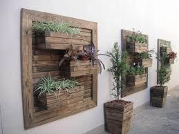 to diy vertical wall garden planter