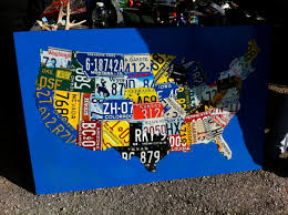 United States License Plate Map by Deals U0026 Finds Do Or Diy