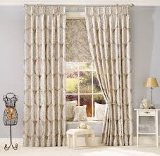 decor chocolate pinch pleat curtains with wooden floor and table