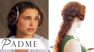 star wars hair styles star wars hair how to padmé in attack of the clones youtube
