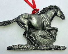 bucking bronco ornament western cowboy rodeo rider movable parts