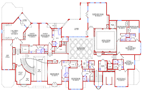 beautiful mansion floor plans to mega design homes of the rich 1