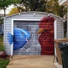 close calls 12 breathtakingly creative garage doors urbanist