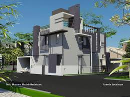 home architect design multistory housing plans 3d model of modern architecture gpird