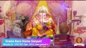 sneha kare home ganpati decoration video u0026 ideas www ganpati tv
