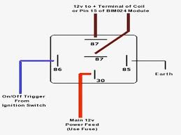 5 wire relay wiring diagram free wiring diagram