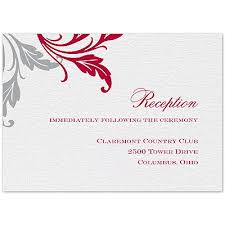 reception cards wording wedding card design contemporary style inspiring sle wedding