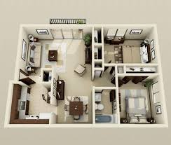 appartement avec 2 chambres 50 plans 3d d appartement avec 2 chambres 3d 21st and 50th