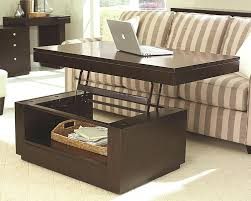 coffee table wonderful storage coffee table lift top raising