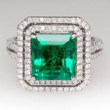 fine emerald rings images Vintage antique estate jewelry eragem jpg