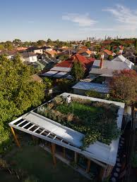5 modern homes with expansive green roofs dwell brick house in 5 modern homes with expansive green roofs dwell brick house in coburg australia home decor
