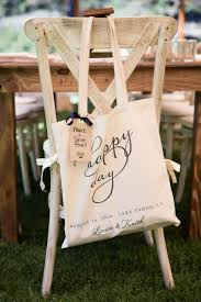 gift bags for weddings favors gifts photos tote bag on back of chair inside weddings