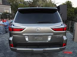 suv lexus 2016 refreshed 2016 lexus lx 570 unveiled at pebble beach the fast