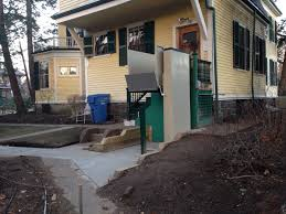 exterior wheelchair lift wheelchair lift residential home