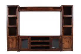 aspen contemporary alder wall unit mathis brothers furniture